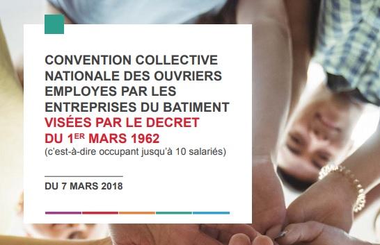 Capeb Les Nouvelles Conventions Collectives Des Ouvriers Du